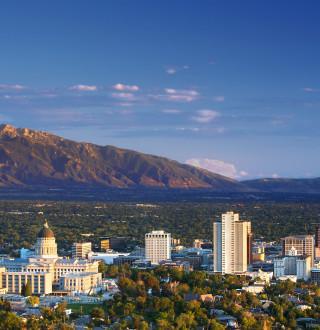 Downtown Salt Lake - Skyline