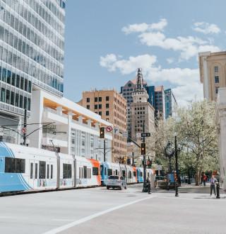 TRAX is a convenient way to get around Salt Lake