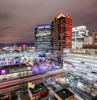 Downtown Salt Lake at Christmas