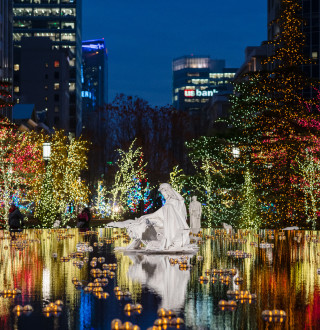 Christmas Lights on Temple Square