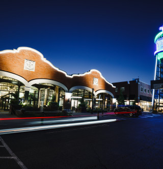 Trolley Square at Night
