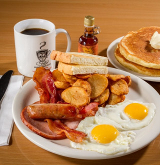 Breakfast at Penny Ann's Cafe