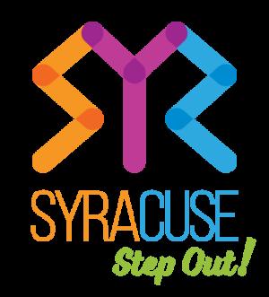 Visit Syracuse Step Out Logo