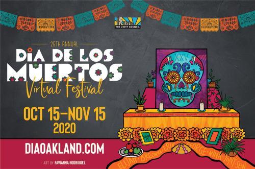Dia de los Muertos 2020 Event Flyer