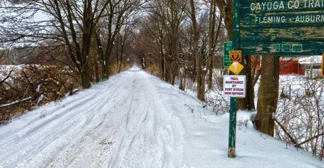 Snowmobile Trails in Cayuga County