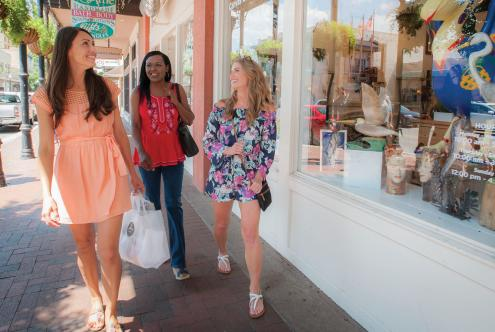 Shopping on Palafox Street