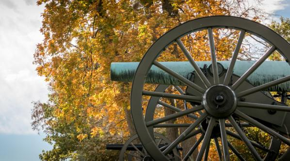 Cannon at Gettysburg National Military Park