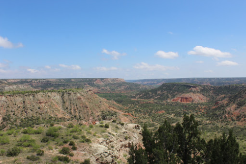 Overlook of Palo Duro Canyon