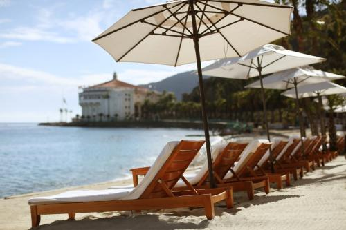 Descano Beach Club on Catalina Island