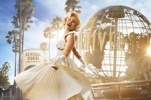 Marilyn Monroe at Universal Studios Hollywood