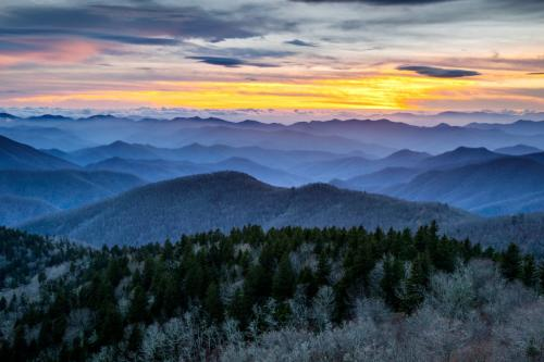 Winter Mountain Vista