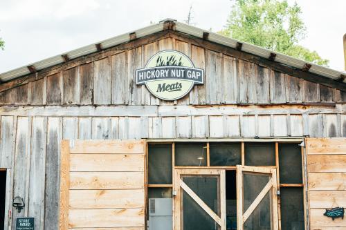 The Barn of Hickory Nut Gap Farm