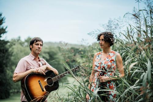 Zoe and Cloyd will perform a virtual Valentine's Day concert hosted by Black Mountain Center for the Arts