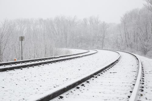 Ben Elliott Snowy Railroad