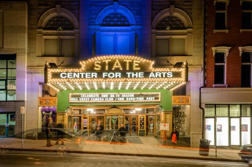 State Theatre Center for the Arts Marquee