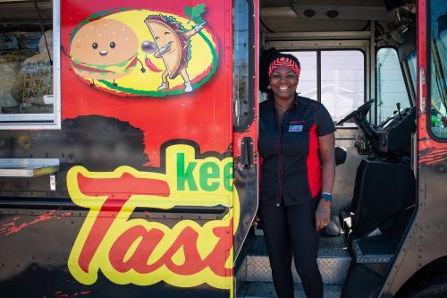 Keisha Smith Keepin' it Tasty Food Truck