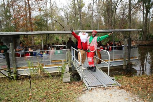 Swamp Tour Christmas