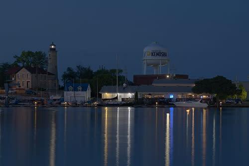 Shoreline at Night - 2020 Photo Contest Winner
