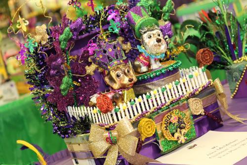 Mardi Gras Shoebox Float