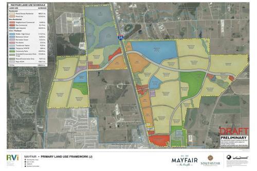 Mayfair Site Plan