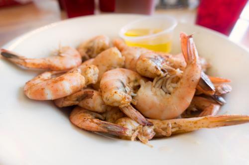 peel and eat shrimp food