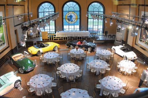 Saratoga Automobile Museum Wedding