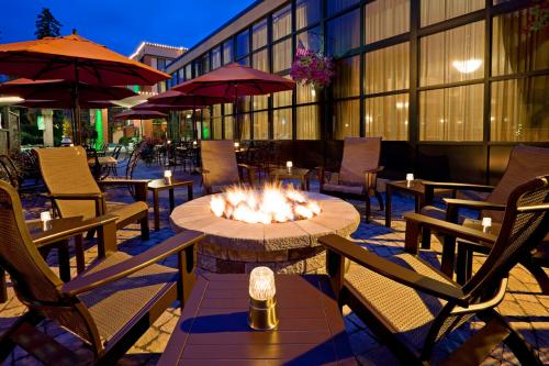 Fire Pit at Bookmakers Holiday Inn