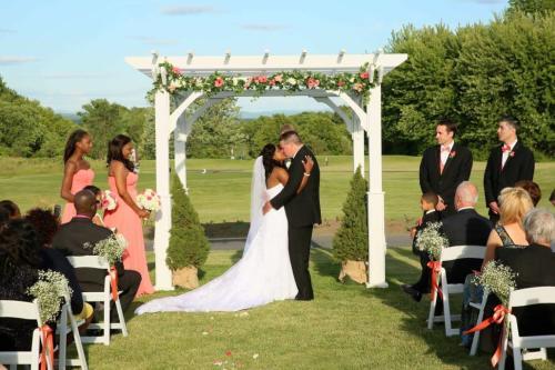 Fairways of Halfmoon Wedding
