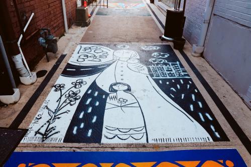 Alley mural 2