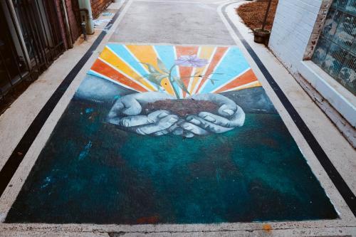 Alley mural 1