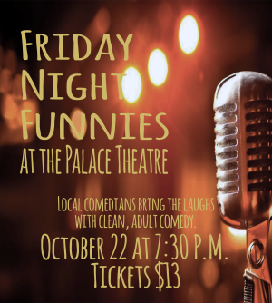 friday night funnies oct PAC poster