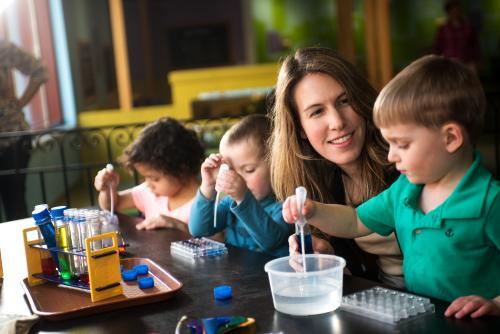 Whitaker Center - Harrisburg - Kids Learning w/Mom