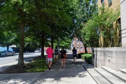 Walking Downtown Cornelius