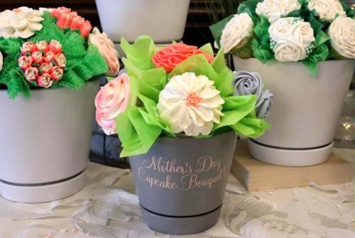Adelphi Hotel Mother's Day Cupcakes