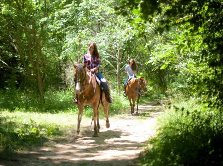 Natural Valley Ranch horseback ride