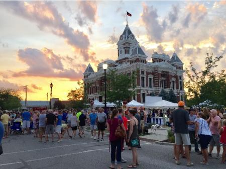 Johnson County Courthouse Square, Franklin