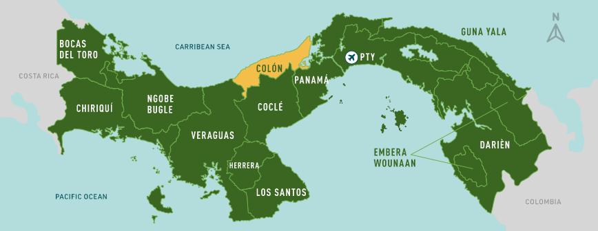 Colon map