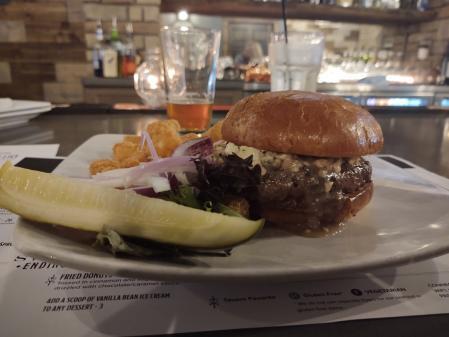 Burger at Tavern on Main - Christine Olson