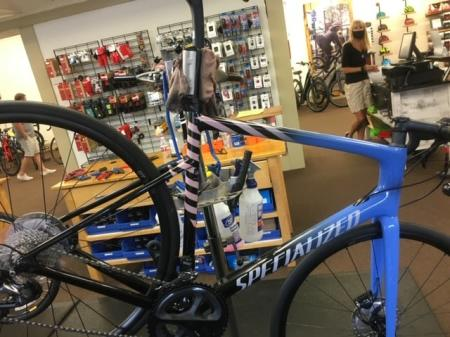 Gear Up Cyclery in Plainfield offers a number of items and services to cyclists. (Photo courtesy of Gear Up Cyclery Facebook page)