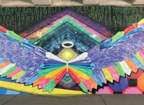 Lansing ARTPath mural