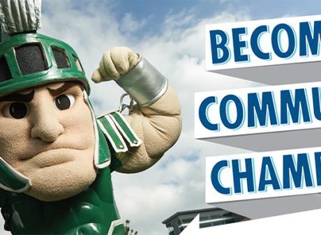 Community Champions header