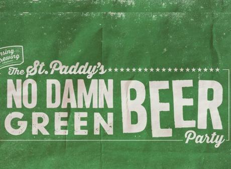 No Damn Green Beer LBC