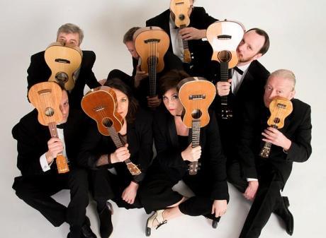 George Hinchliffe's Ukulele Orchestra of Great Britain Wharton Center