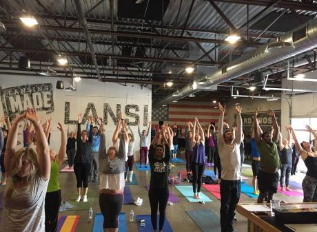 Yoga Lansing Brewing Company