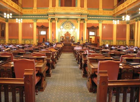 Michigan State Capitol House of Representatives Chambers