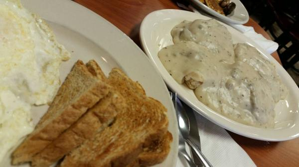 Morgan's Country Corner is always on point with breakfast or lunch. Photo from Jerod K., via Yelp.