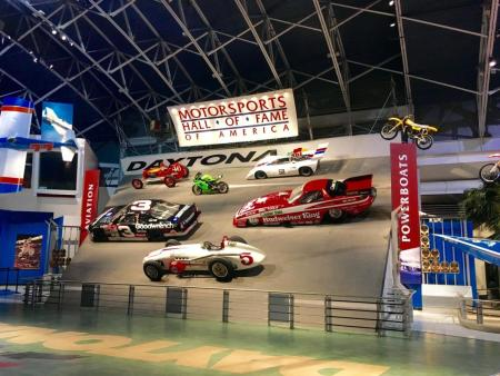 Motorsports Hall of Fame at Daytona International Speedway in Daytona Beach