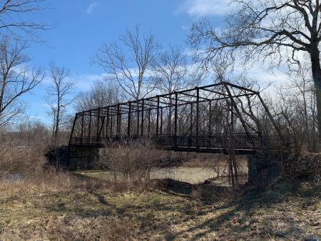 Broyles Road Bridge inside Washington Township Park