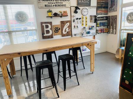 Board and Brush, DIY studio, Brownsburg
