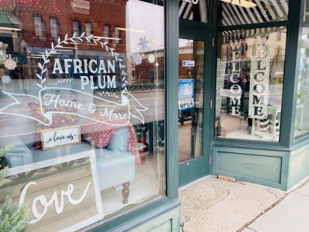 African Plum, Vintage, Antique, shopping, shops, Plainfield shopping